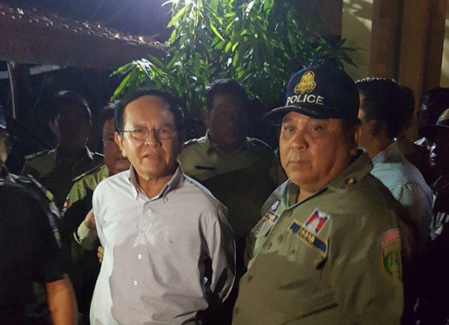 Kem Sokha arrest