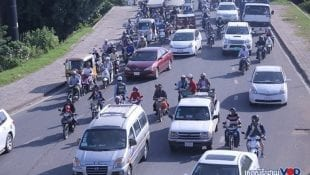 Phnom Penh traffic (VOD file photo)