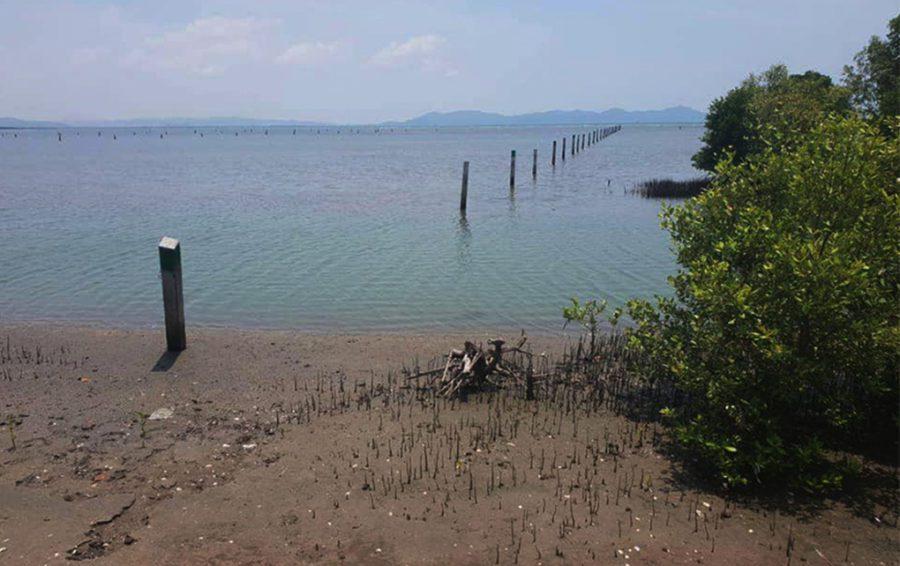 1-hectare plot of sea off the coast of Kampot.