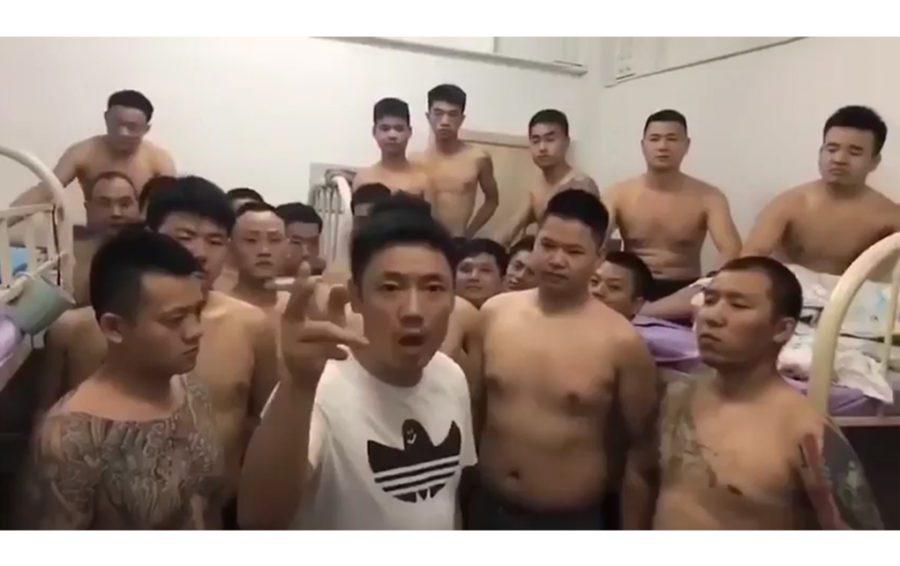 Chinese tattooed man