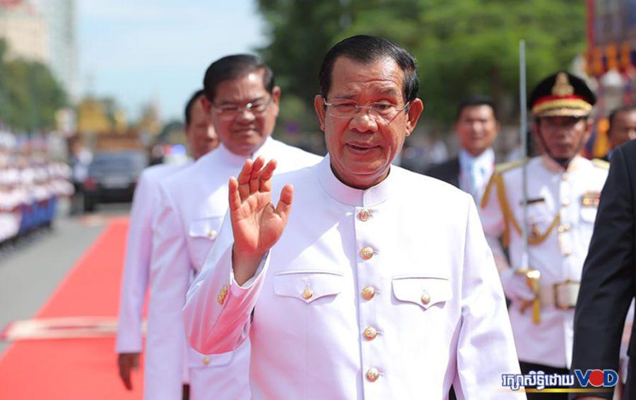 Hun Sen at the National Assembly's 6th mandate on September 5, 2018. Image: Chorn Chanren