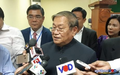 Information Minister Khieu Kanharith