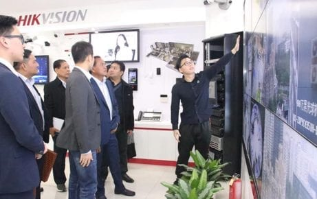 Mr. Seth led a delegation to study the latest technology in Xinjiang, Guangdong Province, Chian on May 13, 2019. Photo: Facebook Sor Thet