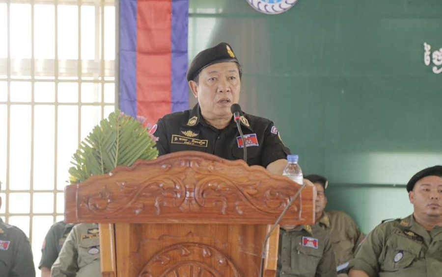National Police spokesman Chhay Kim Khoeun