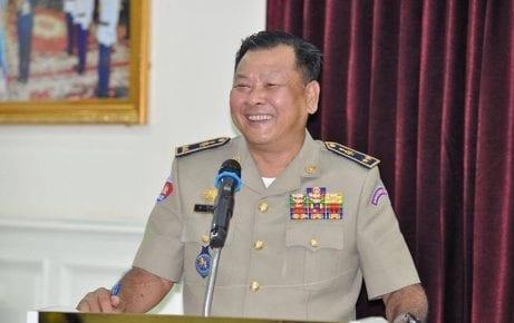 Kandal provincial police chief Iv Chamroeun