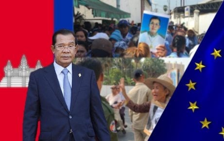 Mr. Hun Sen, Prime Minister of Cambodia.