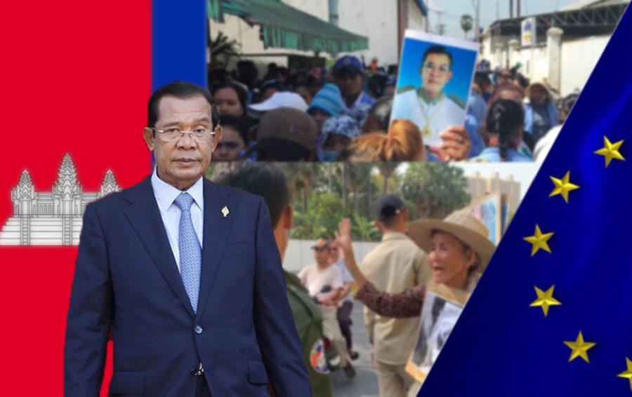 Mr. Hun Sen, Prime Minister of Cambodia.