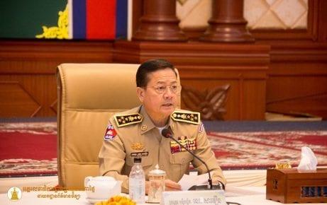 National Police chief Neth Savoeun