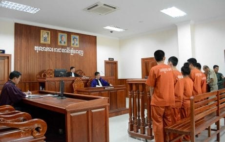 A hearing at Municipal Court in Phnom Penh. Image: OHCHR