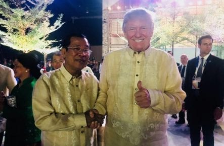 Hun Sen Donald Trump