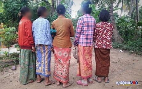 HIV-affected women in Battambang's Roka commune, June 2019. (VOD/Saut Sok Prathna)