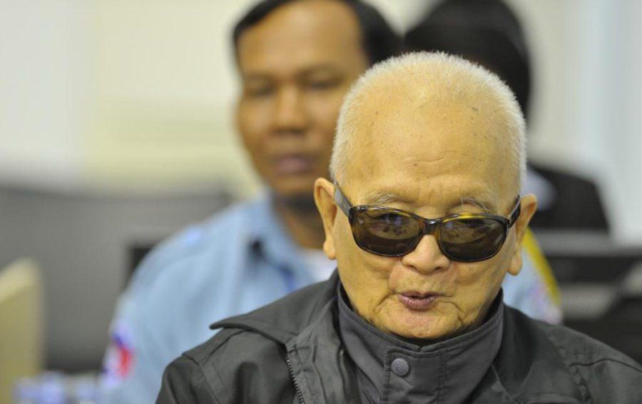 Former senior Khmer Rouge leader Nuon Chea (ECCC)