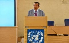 Hun Sen Defends Record at UN Human Rights Council