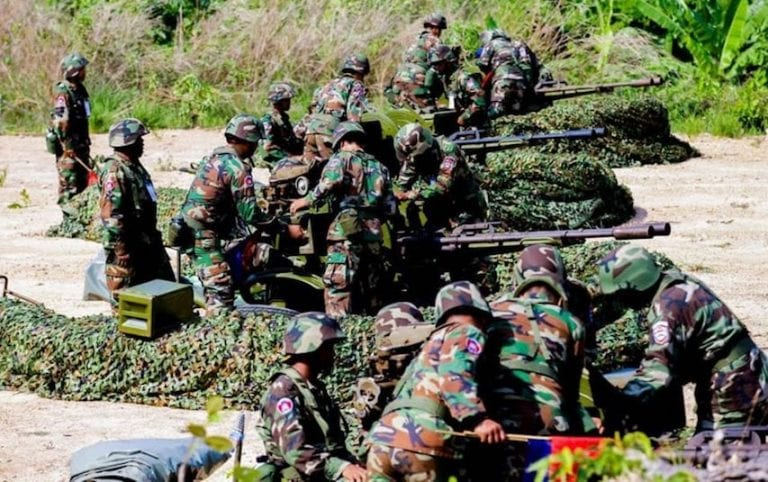 Laos Troops Have Encroached on Cambodian Soil, Army Says