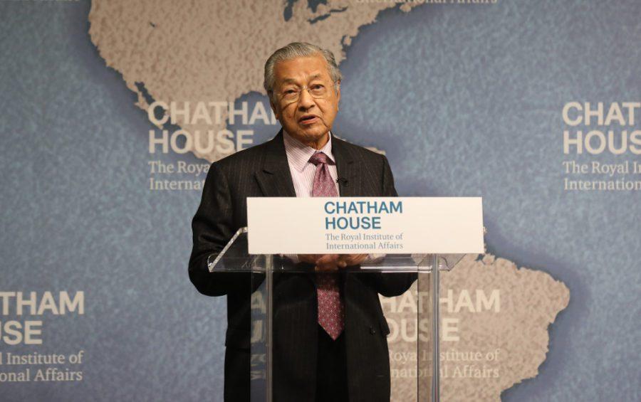 Mahathir Mahamad (Chatham House)