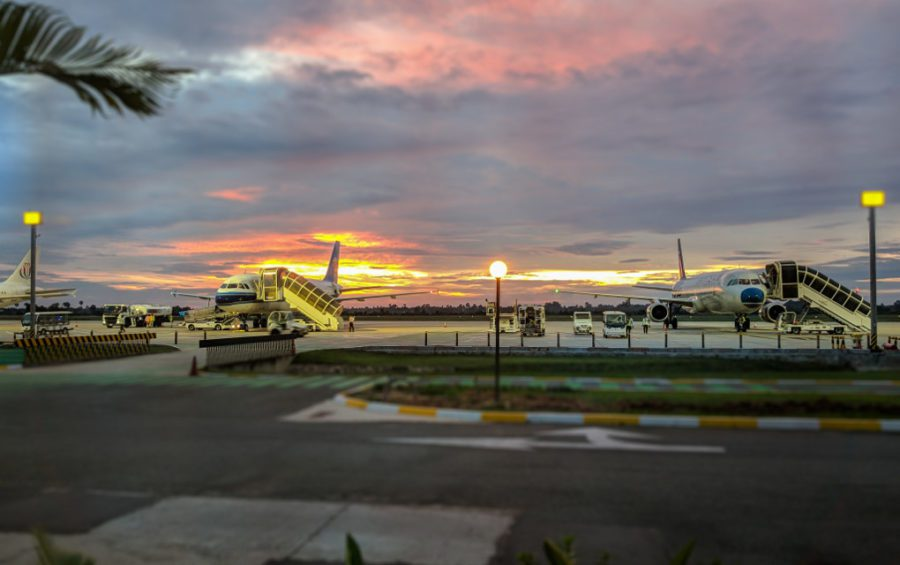 Siem Reap International Airport on July 11, 2018. (Oliver Dunkley/Creative Commons)