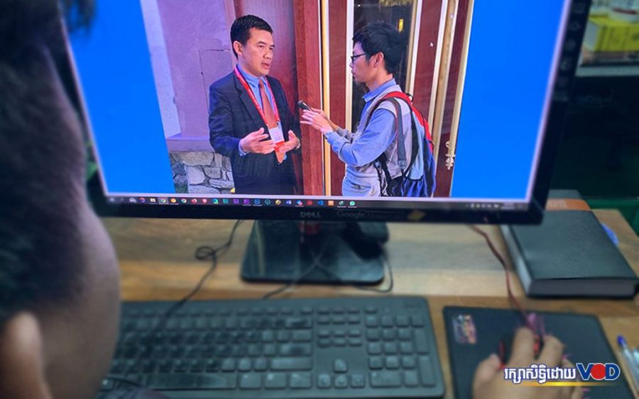 Kruy Limheng is pictured in an online news article from cambodian.cri.cn