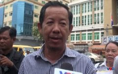 Opposition Parties, Advocates Decry Jailing of Labor Leader Rong Chhun