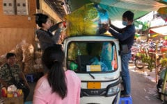 For Sellers of Pchum Ben Offerings, Business Is a Mixed Bag