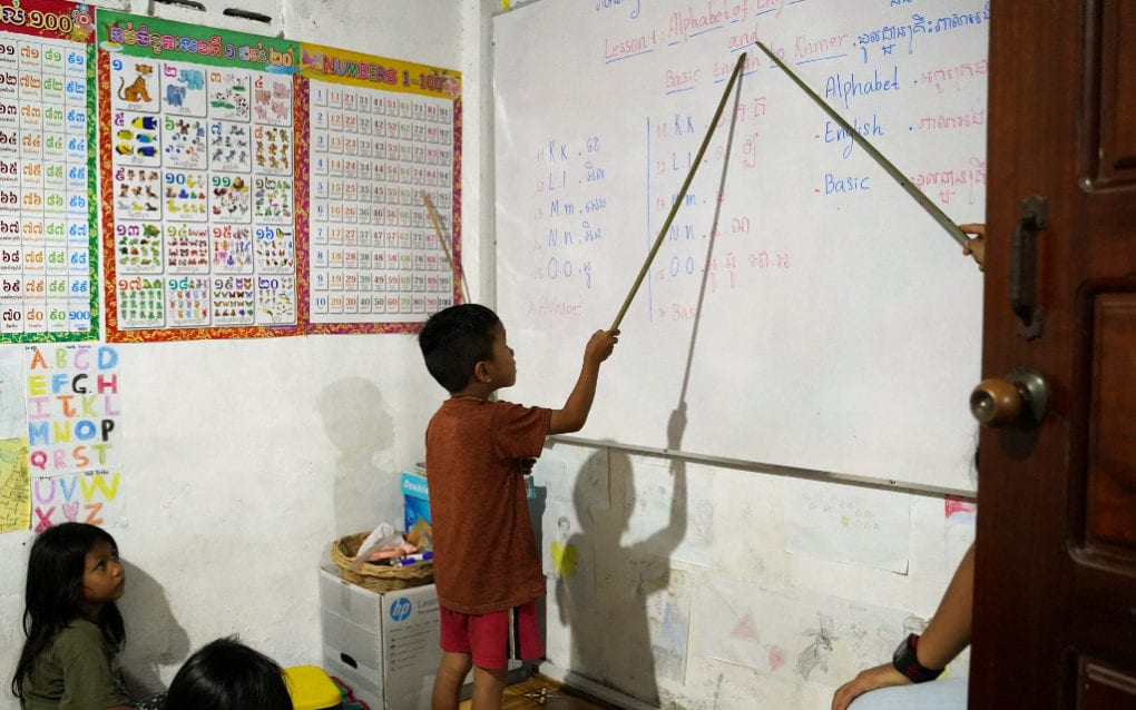Photo Essay: While School's Out, Youth Teach Each Other