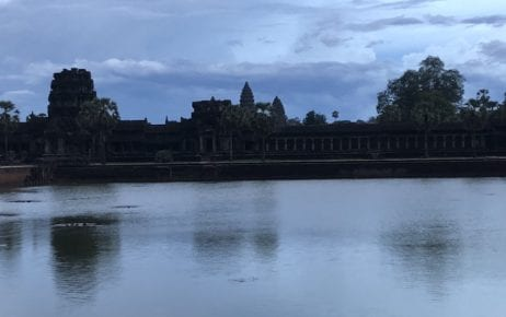 Angkor Wat complex in Siem Reap on June 5, 2020 (Matt Surrusco/VOD)