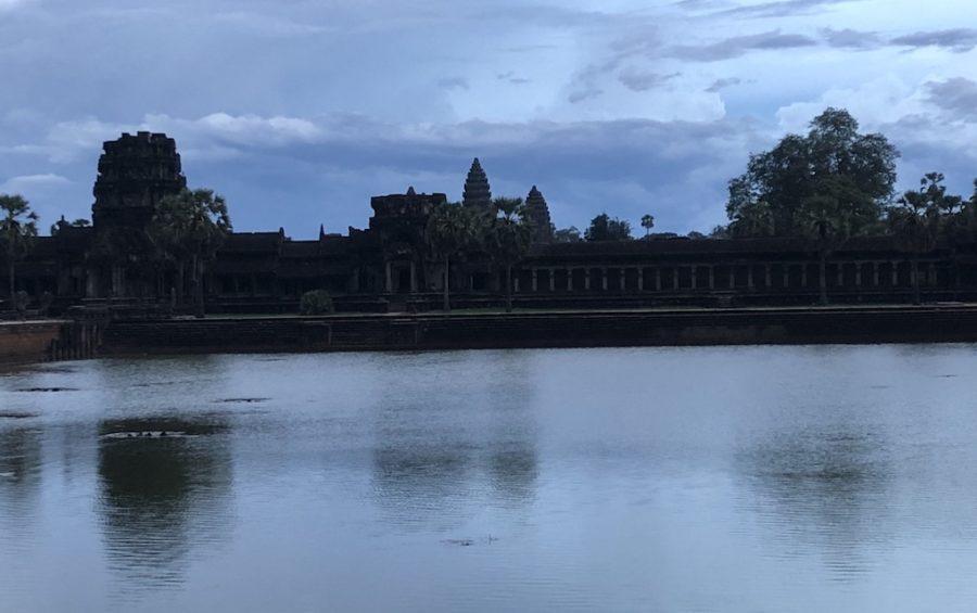 Angkor Wat complex in Siem Reap on June 5, 2020 (Matt Surrusco/VOD)