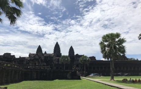 Angkor Wat complex in Siem Reap on June 6, 2020 (Matt Surrusco/VOD)