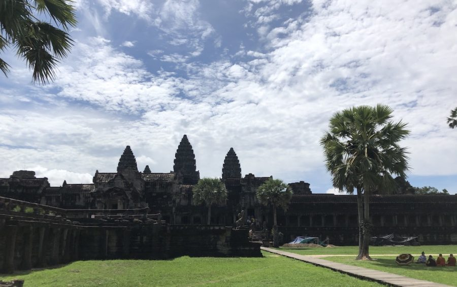 Angkor Wat complex in Siem Reap on June 6, 2020 (Matt Surrusco/VOD)