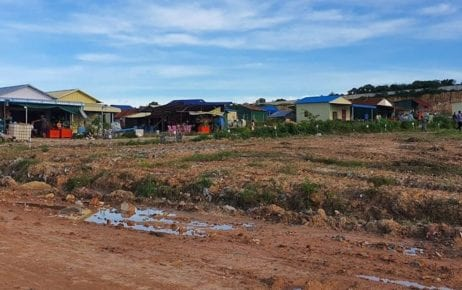 A view of Bit Traing commune in Preah Sihanouk province's Prey Nob district on July 23, 2020, in a photograph posted to the Preah Sihanouk Provincial Administration's Facebook page.