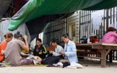 Garment Workers Still Camping Outside Factory 6 Months After Closure