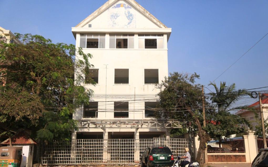 The CNRP's former headquarters in Phnom Penh, on November 3, 2020. (Chorn Chanren/VOD)