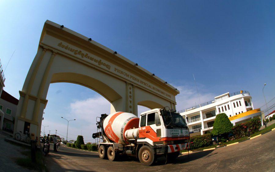 Phnom Penh's special economic zone on February 19, 2013. (Chhor Sokunthea/World Bank)