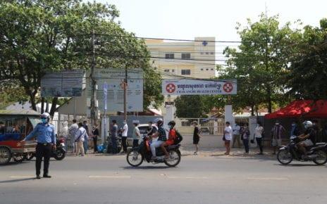Phnom Penh's Chak Angre Health Center on February 22, 2021. (Chorn Chanren/VOD)