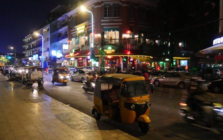 Phnom Penh's Riverside area in 2019. (tjabeljan/Creative Commons)