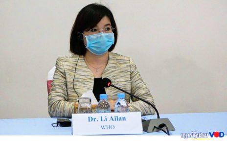 WHO's Cambodia representative Li Ailan in 2020. (Hy Chhay/VOD)