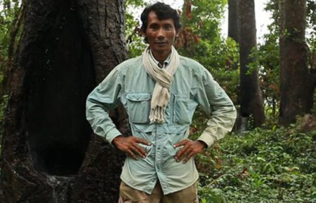 Chut Wutty, forest activist and founder of the Natural Resource Protection Group, in a photo provided by Global Witness.
