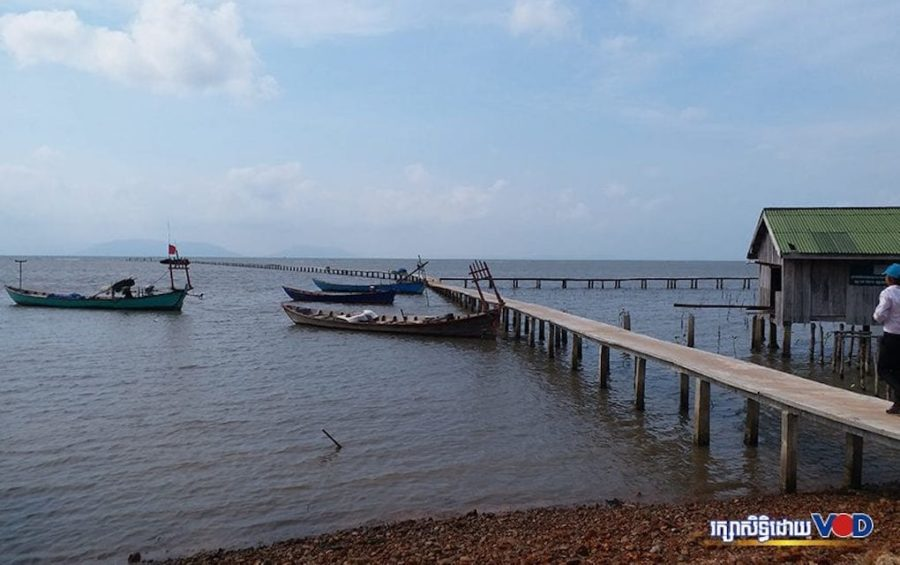 Prek Tnoat fishing community in Kampot province's Toek Chhou district in 2020.