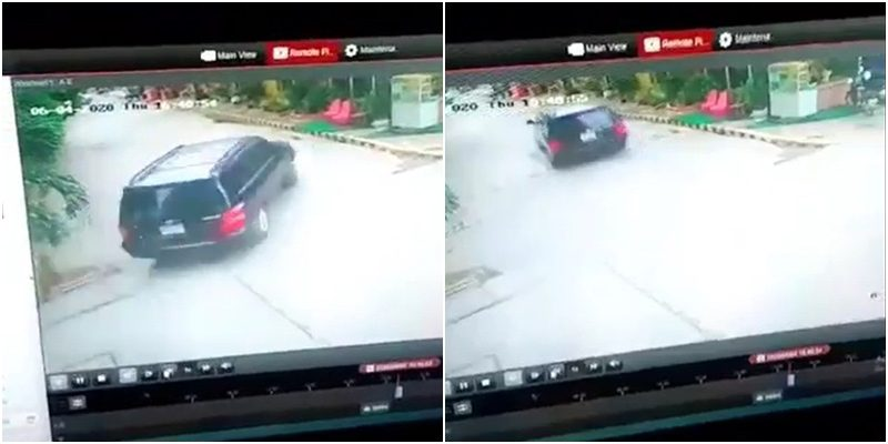CCTV footage of the vehicle allegedly involved in the suspected abduction of Wanchalearm Satsaksit on June 4, 2020 in Phnom Penh, published by Prachatai.