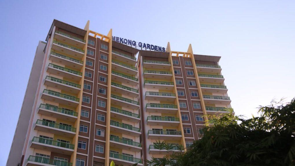 The Mekong Gardens condominiums in Phnom Penh's Chroy Changva district on December 9, 2020. (Chorn Chanren/VOD)