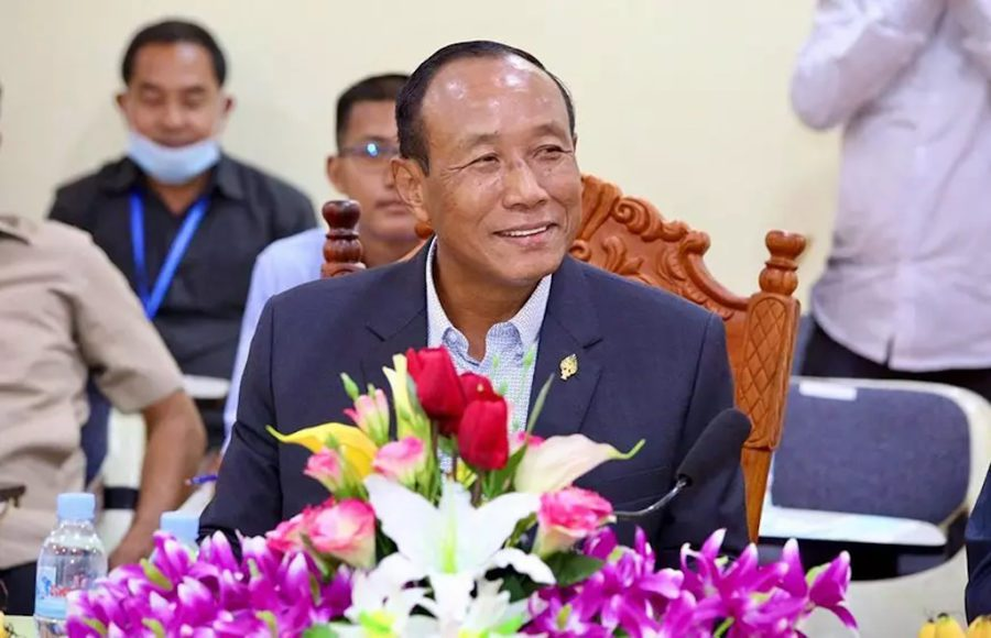 Former Battambang governor Prach Chan will head the National Election Committee, after former chairperson Sik Bun Hok retired due to health reasons. (National Assembly)