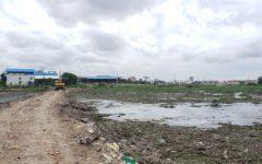 Boeng Tompun Residents' Land Dug Up for City Reservoir