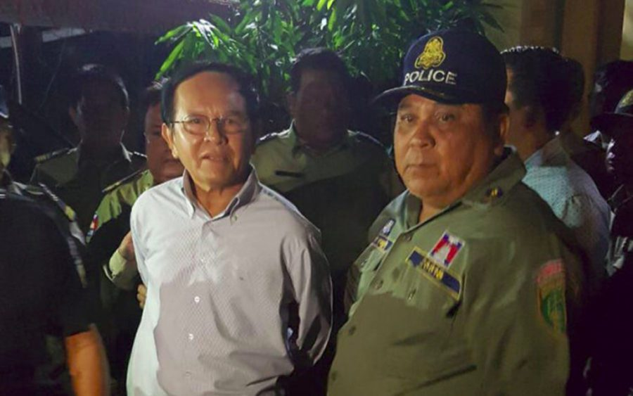 Kem Sokha was arrested at his house in Phnom Penh in September 2017.