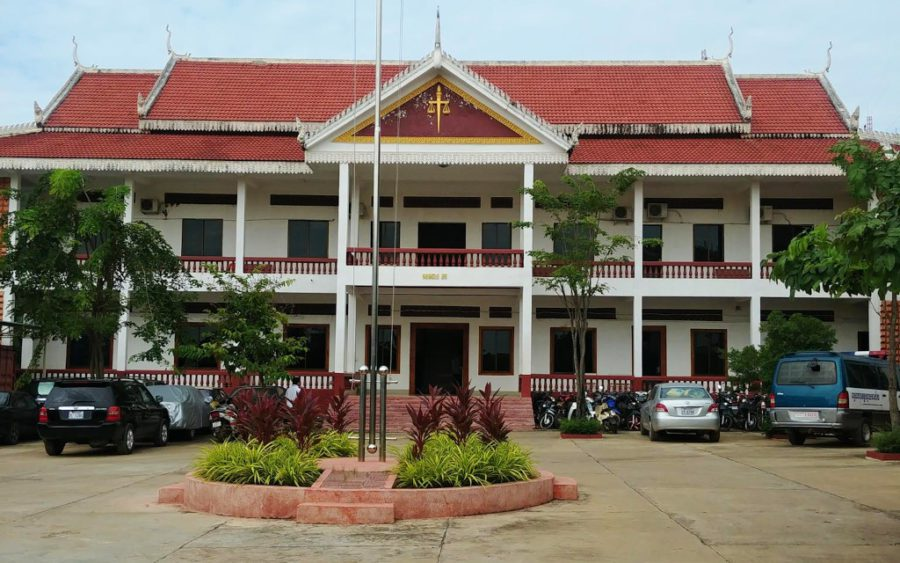 The Banteay Meanchey Provincial Court, in a photo posted to Facebook by the court.