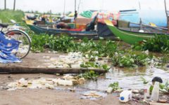 Trash on the Surface, Microplastics Below: Hundreds of Tons of Plastic Carried Daily by Phnom Penh Rivers, Research Finds