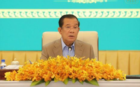 Prime Minister Hun Sen, in a photo posted to his Facebook page on September 20, 2021.