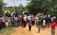 Violence, Around 30 Arrests at New Phnom Penh Airport Development