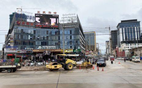 Sihanoukville in October 2020. (Ananth Baliga/VOD)