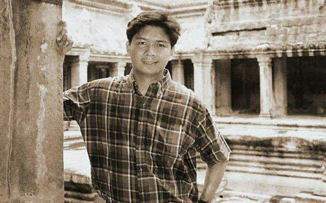 Richie Fernando at Angkor archeological park in Siem Reap (Courtesy of Totet Banaynal)